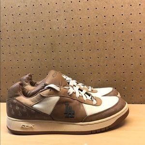 Reebok LA Dodgers Leather Sneakers Men's sz 12